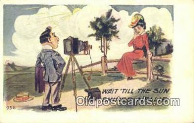 cam001321 - Camera Postcard, Post Card Old Vintage Antique
