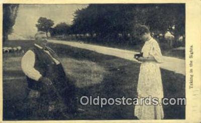 cam001322 - Camera Postcard, Post Card Old Vintage Antique