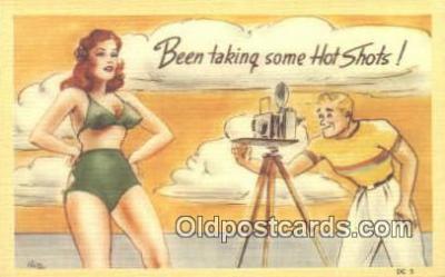 cam001324 - Camera Postcard, Post Card Old Vintage Antique