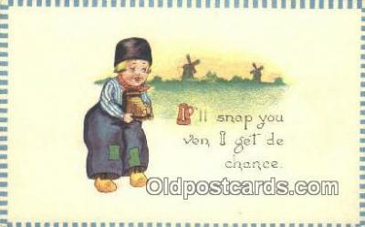 cam001331 - Camera Postcard, Post Card Old Vintage Antique