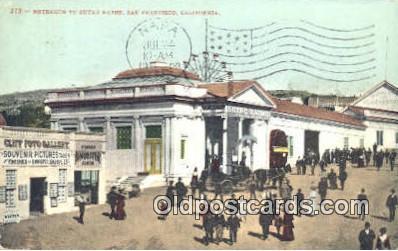 cam001340 - Sutro's Bath, San Francisco, California, USA Camera Postcard, Post Card Old Vintage Antique