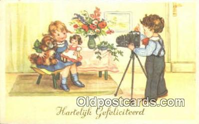 cam001364 - Camera Postcard, Post Card Old Vintage Antique