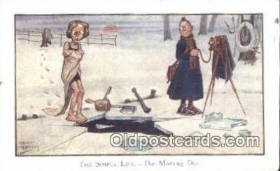 cam001395 - Artist Ernist Irretson Camera Postcard, Post Card Old Vintage Antique