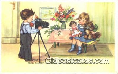 cam001416 - Camera Postcard, Post Card Old Vintage Antique
