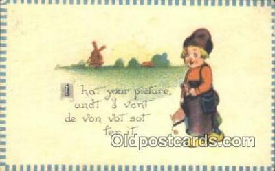 cam001420 - Camera Postcard, Post Card Old Vintage Antique