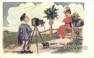 cam001424 - Camera Postcard, Post Card Old Vintage Antique