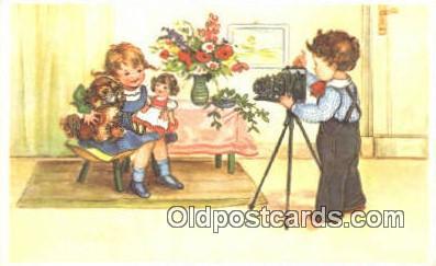 cam001432 - Camera Postcard, Post Card Old Vintage Antique