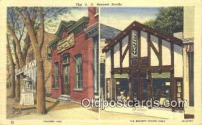 cam001436 - HH Bennett Studio founded 1865 Camera Postcard, Post Card Old Vintage Antique