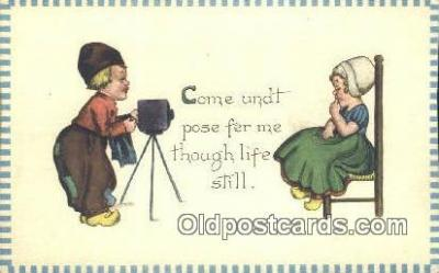 cam001453 - Camera Postcard, Post Card Old Vintage Antique