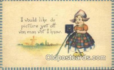 cam001454 - Camera Postcard, Post Card Old Vintage Antique