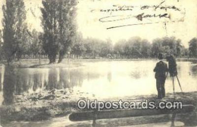 cam001457 - Camera Postcard, Post Card Old Vintage Antique