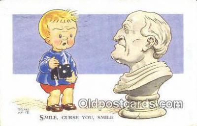cam001474 - Artist Brian White Camera Postcard, Post Card Old Vintage Antique
