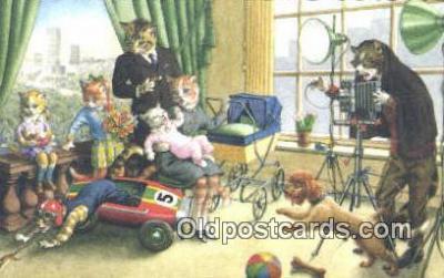 cam001483 - Artist Alfred Mainzer Camera Postcard, Post Card Old Vintage Antique