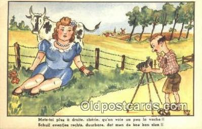 cam001486 - Artist Ray Camera Postcard, Post Card Old Vintage Antique