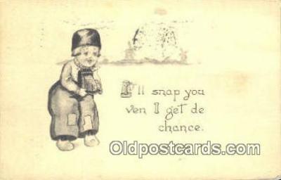 cam001521 - Camera Postcard, Post Card Old Vintage Antique