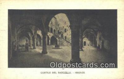 cam001542 - Cortile Del Bargello - Firenze Camera Postcard, Post Card Old Vintage Antique