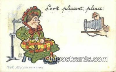 cam001553 - Camera Postcard, Post Card Old Vintage Antique