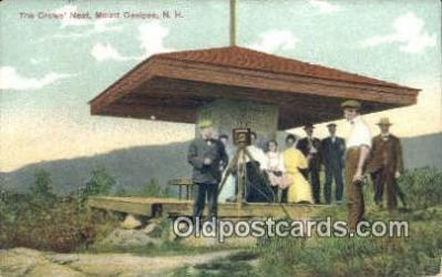 cam001558 - Crows Nest, Mount Ossipee, NH USA Camera Postcard, Post Card Old Vintage Antique