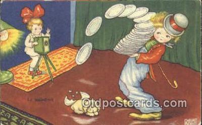 cam001572 - Artist Margaret Boriss Camera Postcard, Post Card Old Vintage Antique