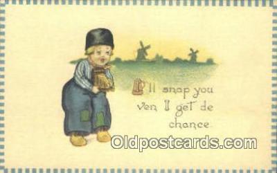 cam001587 - Camera Postcard, Post Card Old Vintage Antique