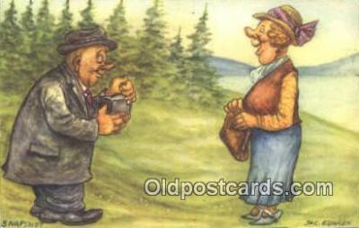 cam001591 - Artist Jac Edgren Camera Postcard, Post Card Old Vintage Antique