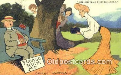 cam001599 - Artist Tom Brown Camera Postcard, Post Card Old Vintage Antique