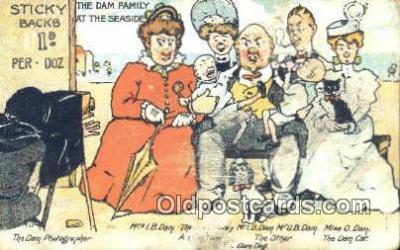 cam001622 - Dam Family Camera Postcard, Post Card Old Vintage Antique
