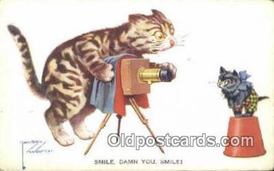 cam001629 - Artist Lawson Wood Camera Postcard, Post Card Old Vintage Antique