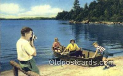 cam001634 - Camera Postcard, Post Card Old Vintage Antique