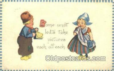 cam001641 - Camera Postcard, Post Card Old Vintage Antique