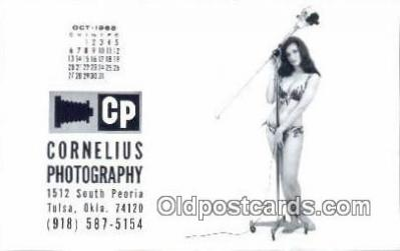 cam001642 - Cornelius Photography, Tulta, OK USA Camera Postcard, Post Card Old Vintage Antique