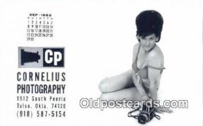 cam001643 - Cornelius Photography, Tulta, OK USA Camera Postcard, Post Card Old Vintage Antique