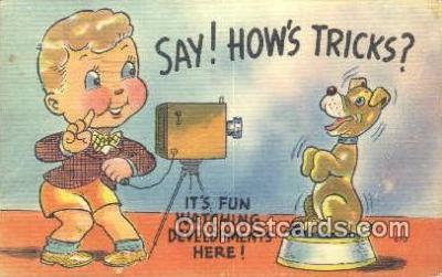 cam001645 - Camera Postcard, Post Card Old Vintage Antique