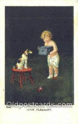 cam001666 - Camera Postcard, Post Card Old Vintage Antique