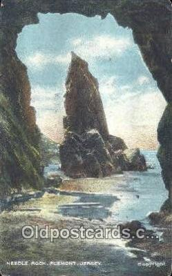 cam001678 - Needle Rock, Plemont, Jersey Camera Postcard, Post Card Old Vintage Antique