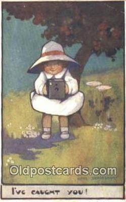 cam001689 - Artist Agnas Richardson Camera Postcard, Post Card Old Vintage Antique