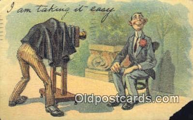 cam001728 - Camera Postcard, Post Card Old Vintage Antique