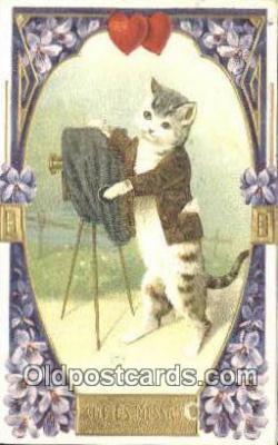 cam001789 - Camera Postcard, Post Card Old Vintage Antique