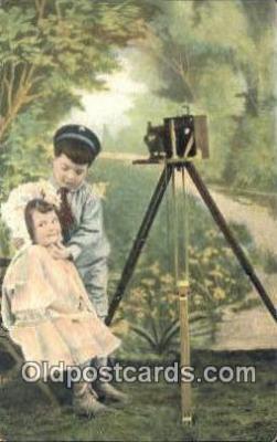 cam001805 - Camera Postcard, Post Card Old Vintage Antique