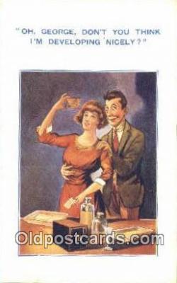cam001820 - Camera Postcard, Post Card Old Vintage Antique