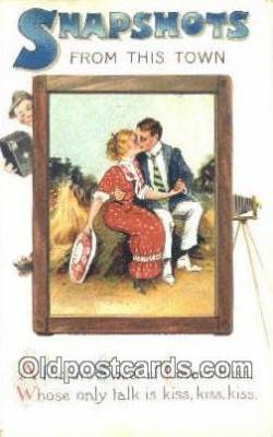 cam001857 - Camera Postcard, Post Card Old Vintage Antique
