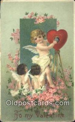 cam001864 - Camera Postcard, Post Card Old Vintage Antique