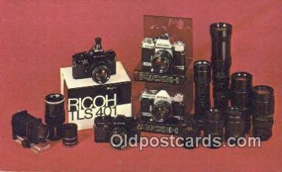 cam001882 - Camera Postcard, Post Card Old Vintage Antique