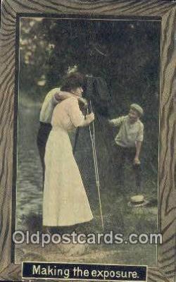 cam001902 - Camera Postcard, Post Card Old Vintage Antique