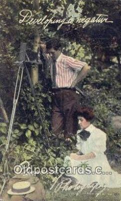cam001909 - Camera Postcard, Post Card Old Vintage Antique