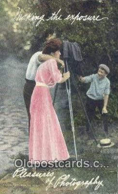 cam001910 - Camera Postcard, Post Card Old Vintage Antique