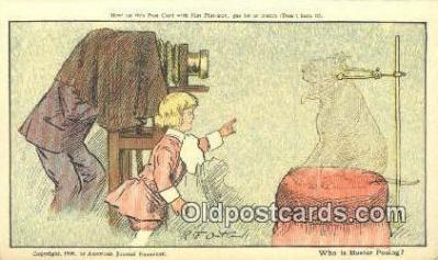 cam001920 - Buster Brown Series, Artist R.F. Outcault Camera Postcard, Post Card Old Vintage Antique