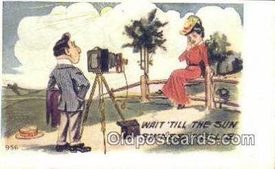 cam001962 - Camera Postcard, Post Card Old Vintage Antique
