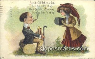 cam100011 - Camera Postcard Post Card Old Vintage Antique