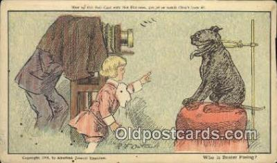 cam100038 - Buster Brown Camera Postcard Post Card Old Vintage Antique